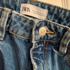 Zara mom jeans size 36